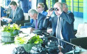 莫斯科航展普京亲自助阵 中国无人机亮相